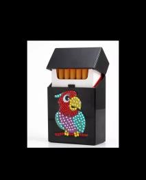 Cigarett - kort hållare papegoja -