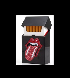 Cigarett - kort hållare tunga -