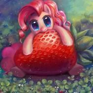 Leveranstid 1,5-2v - Ponny jordgubb, fyrkant 40x40cm
