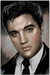 1,5-2v leveranstid - Elvis - 30x40cm