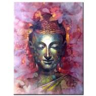 Buddha, fyrkant 40x50cm