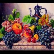 Frukt fat, fyrkant 50x40cm