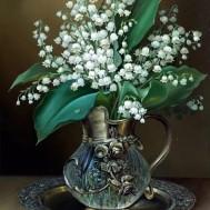 Liljekonvaljer, fyrkant 40x50cm