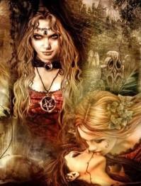 Vampyr kärlek, fyrkant 60x80cm -