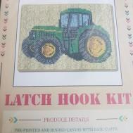 Traktor 52 cm x 38 cm