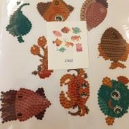 Stickers fiskar