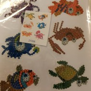 Stickers strand djur
