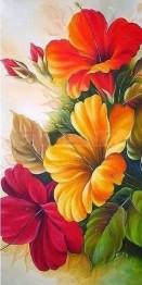 Blommor - 30x60cm