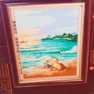 Pärlbroderi - sensuell strand