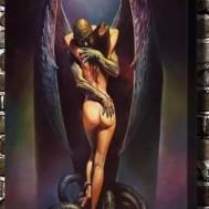 Djävusk kärlek, fyrkant 60x80cm
