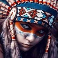 Kvinna indian
