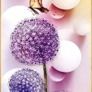 Blommor, fyrkant eller rund 30x60cm