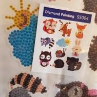 Stickers, djursamling 10 pack