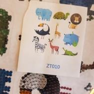 Sticker savann djur