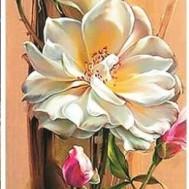 Blommor, fyrkant 30x90cm