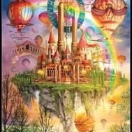 Luftballong, fyrkant eller rund 40x50cm