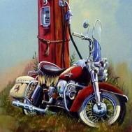 Mc bensinpump, fyrkant 40x50cm