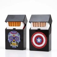 Cigarett - kort hållare sköld