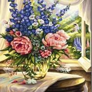 Blommor vas, rund eller fyrkantig 40x50cm