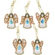 Nyckelring ängel