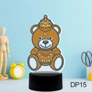 LED lampa björn
