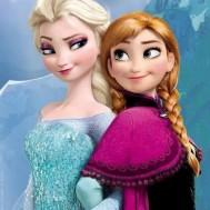 leveranstid 1,5-2v,Diamondpainting, diamant tavlaDiamondpainting - Diamanttavla Disney frost Anna & Elsa 30x40cm fyrkant