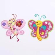 Klistermärken fjärilar 2p