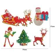 Klistermärken jultomten