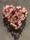 rosa-rött oasis hjärta