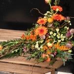 Liggande dekoration, orange