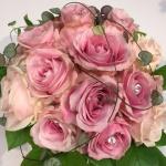 Brudbukett pinkavalance