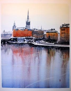 Gicléetryck Stockholm XVII - Gicléetryck Stockholm XVII A4