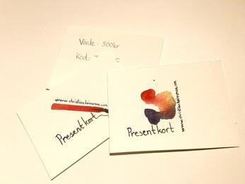Presentkort -