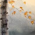 Gicléetryck Autumn