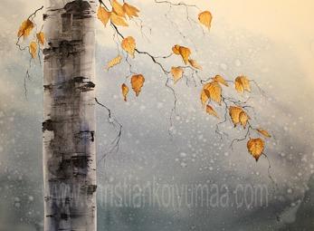 Gicléetryck Autumn - Gicléetryck Autumn A4