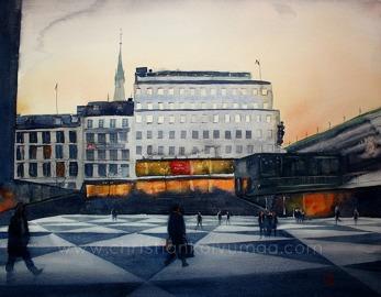 Gicléetryck Stockholm XXXI - Gicléetryck Stockholm XXXI A4