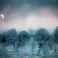 Gicléetryck Full moon