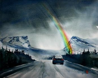 Gicléetryck Lappland I - Gicleetryck Lappland I A4