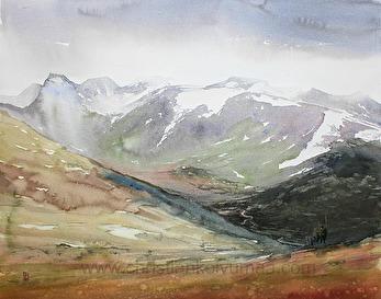 Gicléetryck Lapplandsjägare - Gicléetryck Lapplandsjägare A4