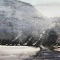 Bergvägg
