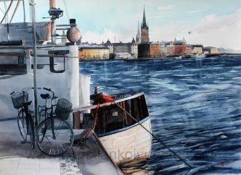 Gicléetryck Stockholm XXXVII - Gicléetryck Stockholm XXXVII A4