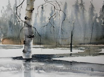 Snow melt -