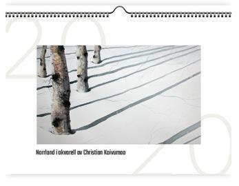 Kalender - Norrland i akvarell - Kalender - Norrland i akvarell