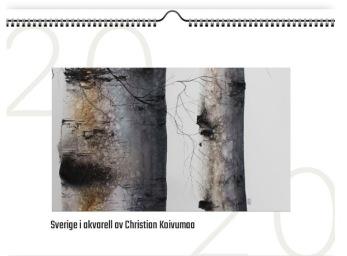 Kalender - Sverige i akvarell - Kalender - Sverige i akvarell
