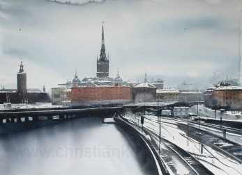 Gicléetryck Stockholm XXXIX - Gicléetryck Stockholm XXXIX A4