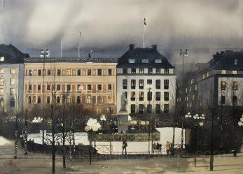 Gicléetryck Stockholm XXXX - Gicléetryck Stockholm XXXX A4