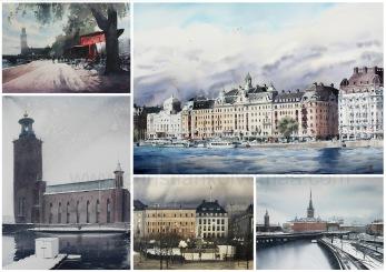 Collage Stockholm 2020 - Collage Stockholm 2020 A2