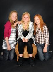 Ensemble barn grupp 2 - Hanna Kihlgren, Fannie Lindahl, Ellen Knutas