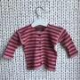 Barnkofta i bomull - Rosa/röd barnkofta