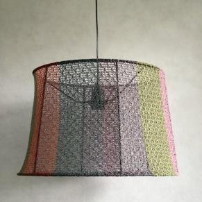 Stickade lampor. - Multi taklampa